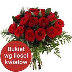 Bukiet 13 róż